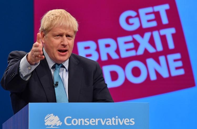 Boris Johnson (Photo by Ben STANSALL / AFP)