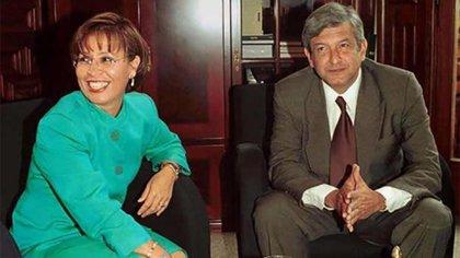 Robles estuvo involucrada en la filtración de videos en los que un empresario otorgaba sobornos a funcionarios de la capital cuando López Obrador era alcalde del entonces Distrito Federal (2000-2004). (Foto: Especial)