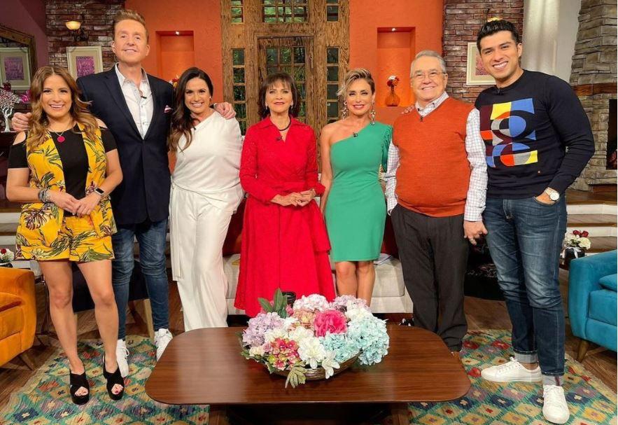 El programa vespertino de TV Azteca es superado en audiencia por una telenovela (Foto: Instagram / @ventaneandouno)