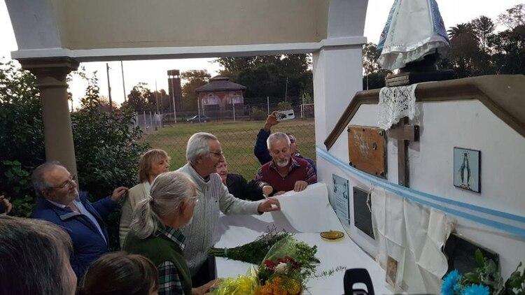 Homenaje al padre Jorge Galli en Pergamino