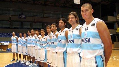 La Generación Dorada es un grupo que trascendió el básquet (Gentileza: Marcelo Figueras)