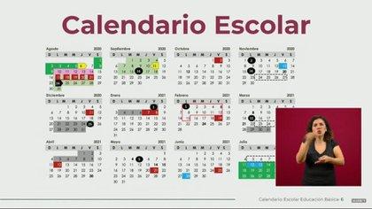 El nuevo calendario escolar considera puentes cortos, largos y tres periodos vacacionales (Foto: SEP)