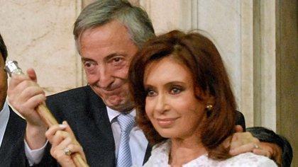 """""""Cristina tiene que irse como Michelle"""", sostenía Kirchner, quien creía que la Argentina se debía la posibilidad de despedir a un jefe de Estado con cierto orgullo (NA)"""