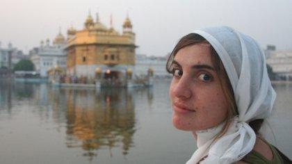 Soledad Urquia vivió un año en la India