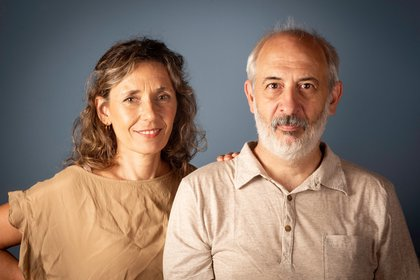 Sandra Di Luca y Pablo Morosi