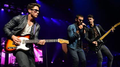 Los hermanos Jonas (Getty Images)