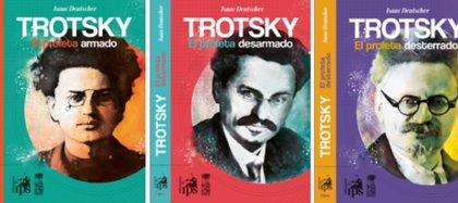La trilogía biográfica de Trotski, de Isaac Deutscher (Ediciones IPS)
