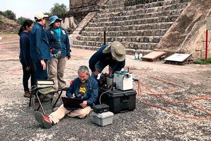 Mediante análisis se pudo conocer que la cueva está a 15 metros de profundidad (Foto: inah.gob.mx)
