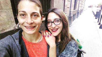 Gómez y su esposa (Instagram: @rusa.gomez)