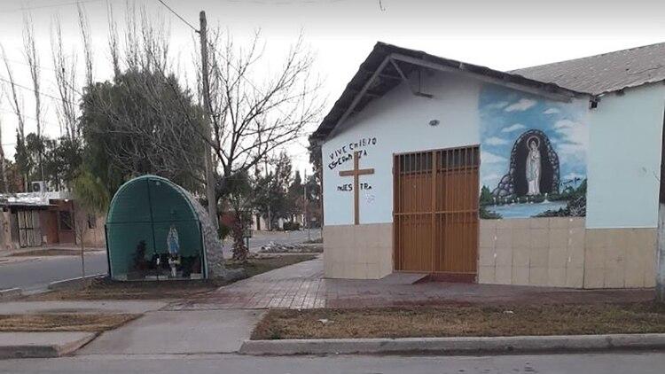 Capilla de El Agarrobal, una de las iglesias en las que el cura acusado se desempeña
