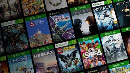 El catálogo de lanzamiento de Xbox Series X incluye una enorme cantidad de títulos de las consolas anteriores