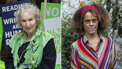 Margaret Atwood y Bernardine Evaristo (Shutterstock)