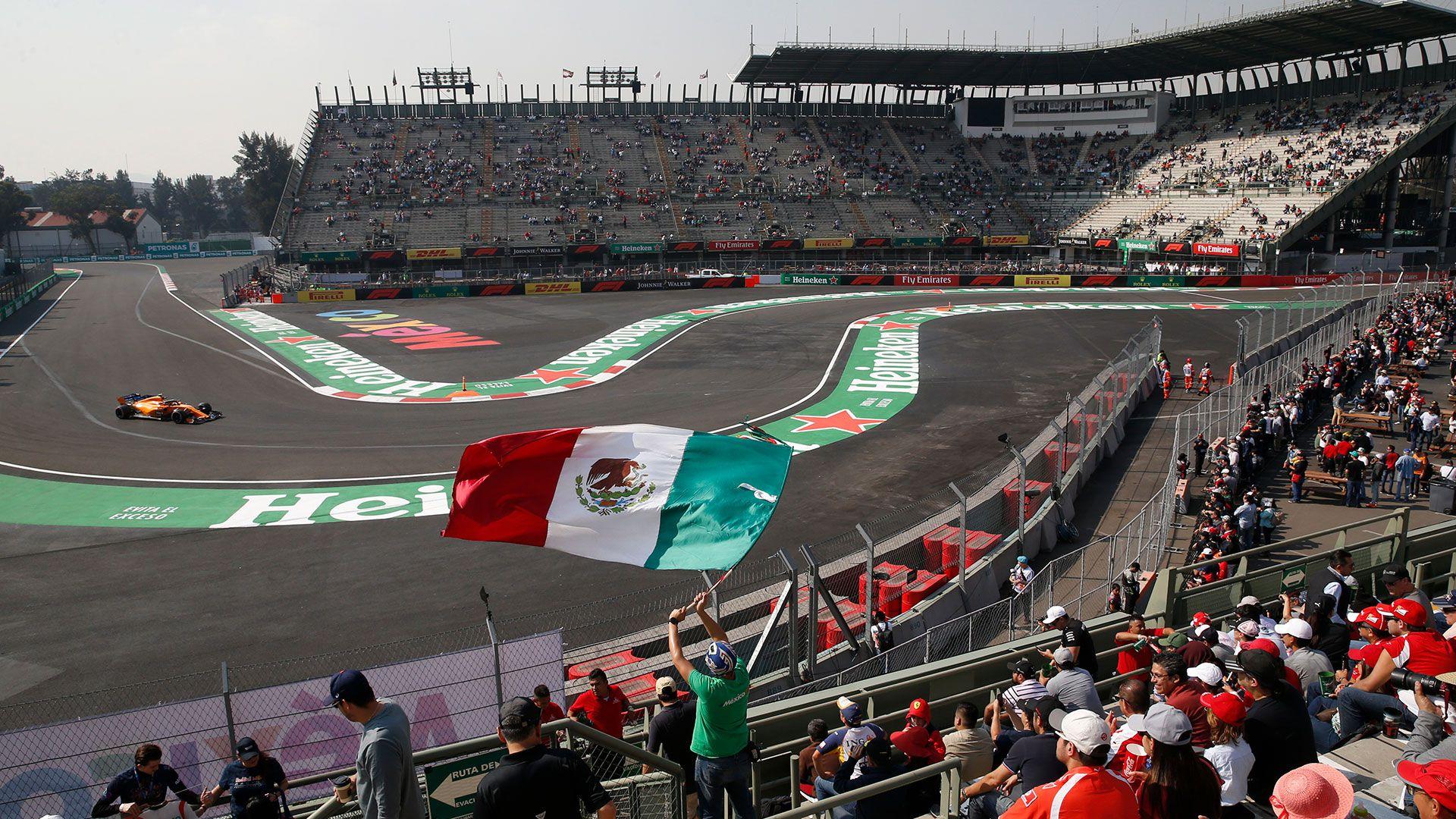 El GP de México se correrá al menos tres años más (Foto: AP)