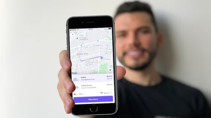 Users will be able to know the emissions of polluting gases on their journey and what the company does to reverse this environmental impact (Photo: Courtesy Cabify)