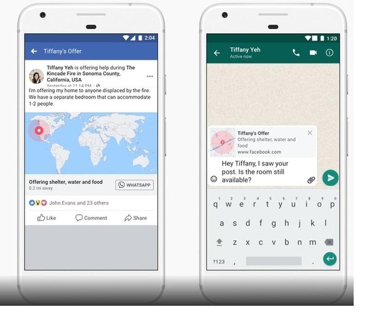 Respuesta ante crisis, una herramienta que se sumó a WhatsApp.