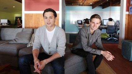 Bobby Murphy y Evan Spiegel, creadores de Snapchat