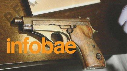 La pistola Bersa calibre 22 con la que murió Nisman.