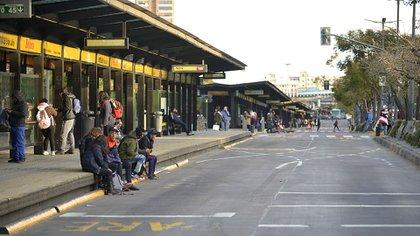 Volvieron a cortar el Metrobus y no pasan colectivos entreAvenida de Mayo y Belgrano