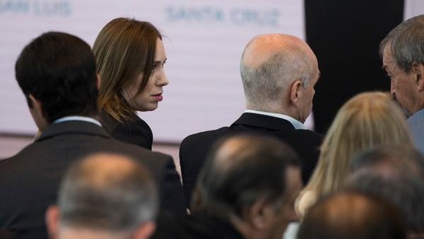 Vidal y Rodríguez Larreta (Foto: Adrián Escandar)