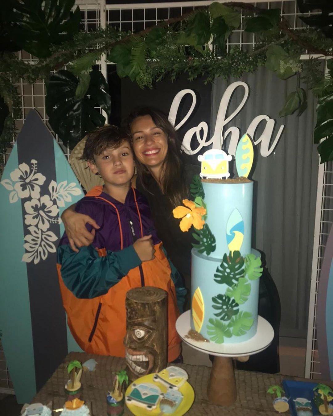 Pampita festejó los 12 años de su hijo Bautista, con una fiesta temática (Foto: Instagram)