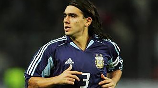 Sorín fue subcampeón en la Copa América del 2004 y en la Copa Confederaciones del 2005