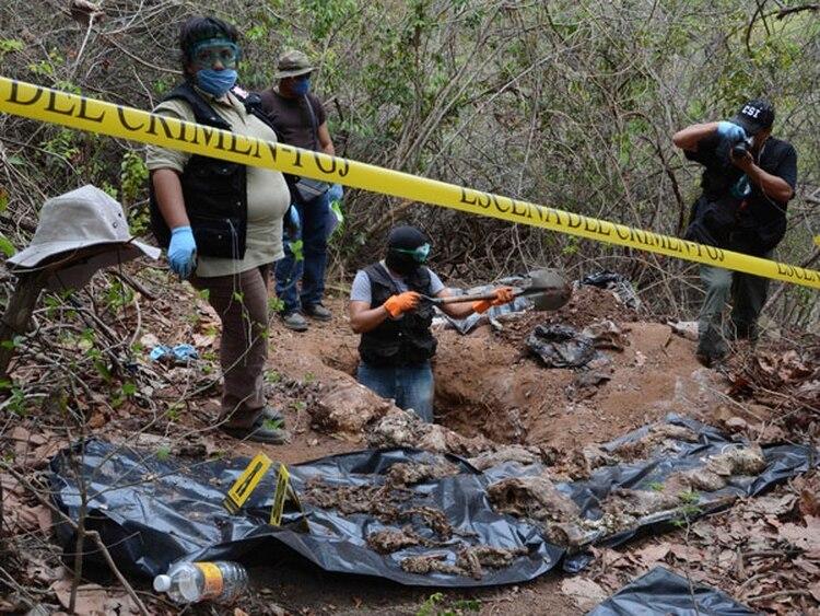 En un comunicado la dependencia dio a conocer que de los 25 cadáveres recuperados de la casa en la colonia El Zapote, cinco son mujeres y 20 son hombres.