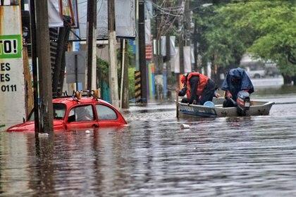 08/11/2020 Inundaciones en Tabasco, México POLITICA CENTROAMÉRICA MÉXICO EL UNIVERSAL / ZUMA PRESS / CONTACTOPHOTO