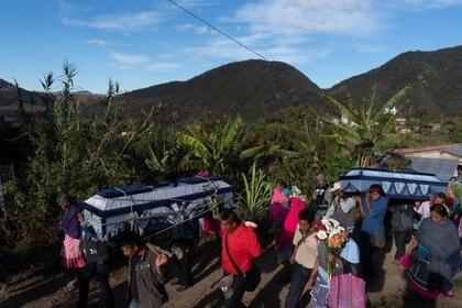 El funcionario declaró que los siete indígenas habrían salido a buscar vacas que se perdieron en los límites del municipio, ubicado en la Montaña Alta de Guerrero, hasta llegar al municipio vecino Zapotitlán Tablas para buscar el ganado (Foto: REUTERS/Alexandre Meneghini)