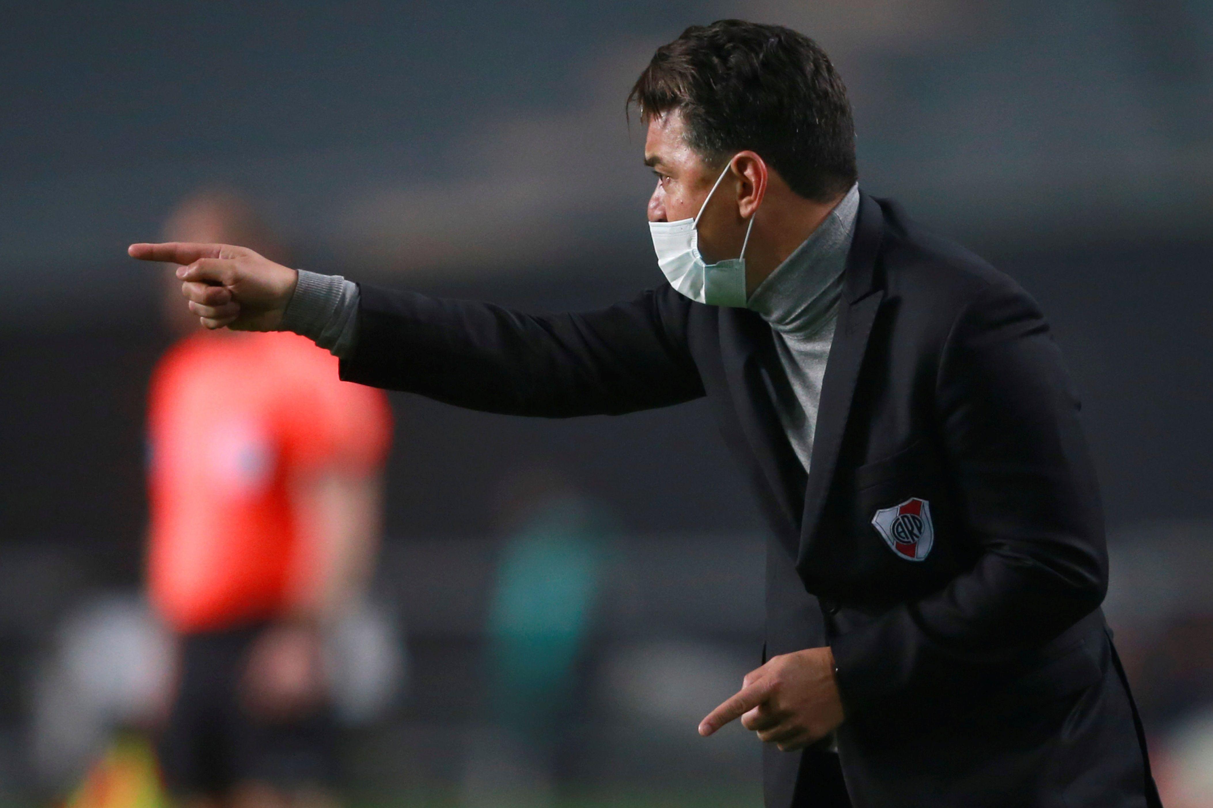 El entrenador de River Marcelo Gallardo. EFE/Demian Alday Estevez POOL/Archivo