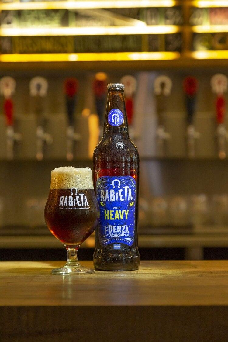 La WeeHeavy una de las cervezas con más graduación alcohólica