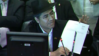 Diego Pary, embajador de Bolivia en la OEA