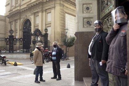 La city porteña en tiempos de cuarentena (Erica Canepa/Bloomberg)