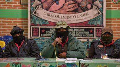Integrantes del Ejército Zapatista de Liberación Nacional (EZLN). (Foto: Especial)
