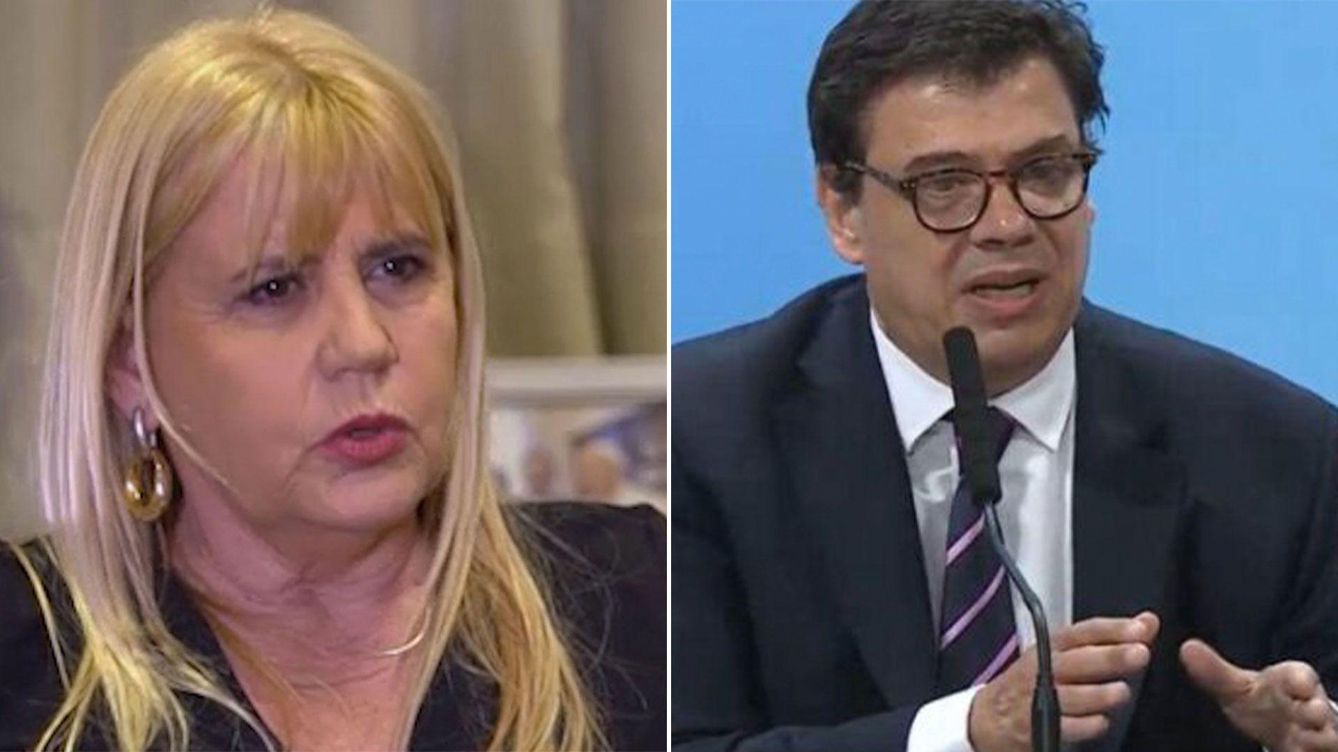 Gabinete Nacional - Marcela Losardo y Claudio Morini