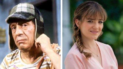 María Penella es una de las 12 nietas del actor Roberto Gómez Bolaños, hija de Marcela Gómez Fernández (Foto:  I - Archivo; D - Instagram @teacuerdasof)