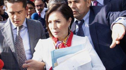 Rosario Robles fue vinculada a proceso y permanece detenida desde agosto del 2019 (Foto: Cuartoscuro)