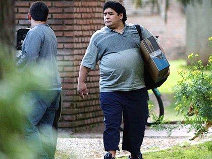 Diego Maradona, días antes del episodio en Punta del Este