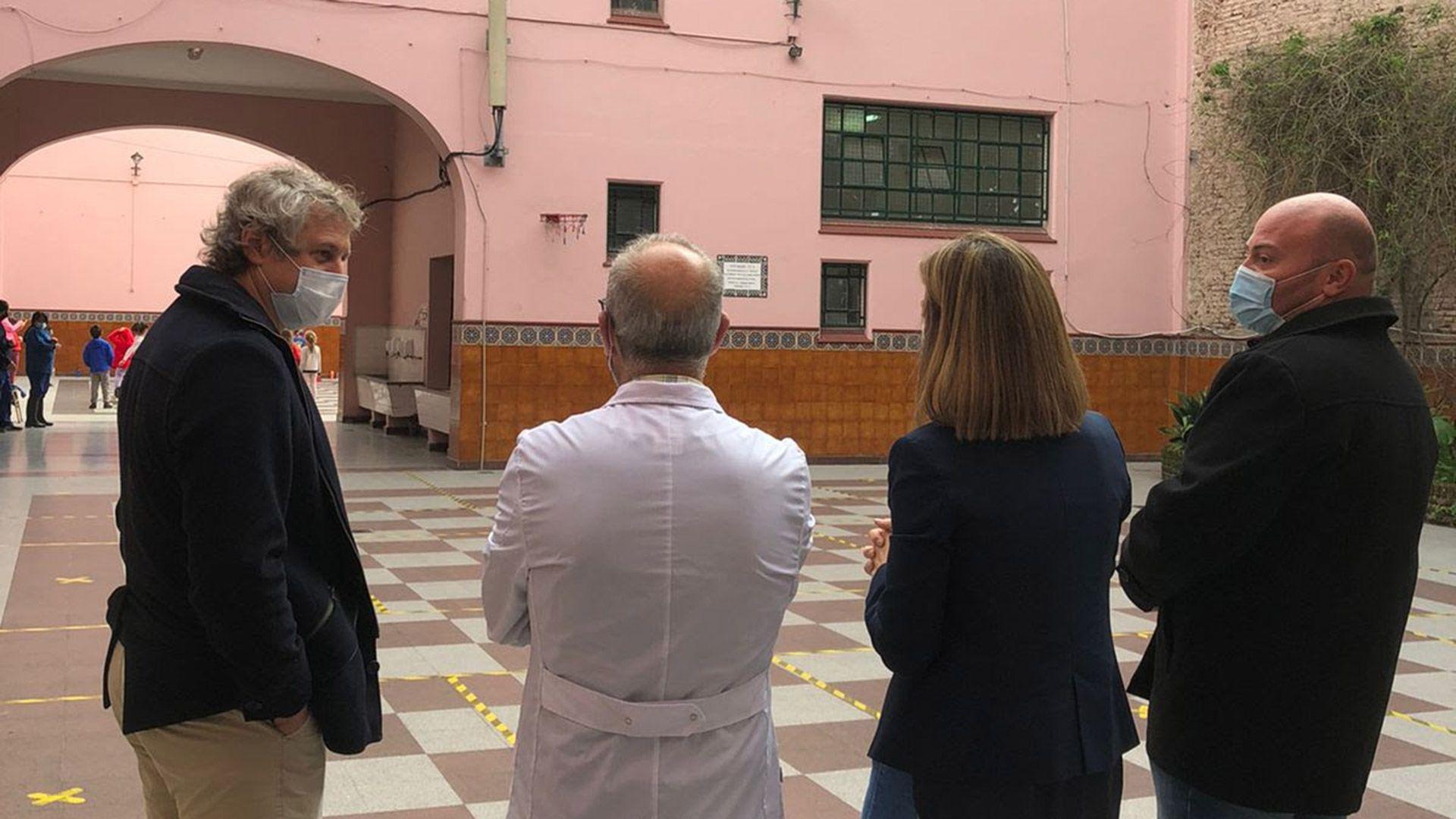 Felipe Miguel Soledad Acuña escuelas elecciones