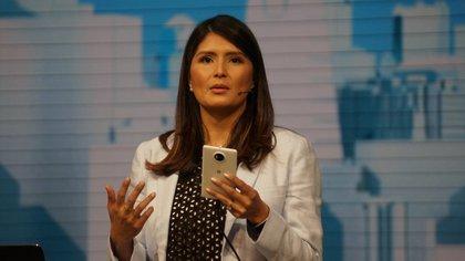 Lilian Rincon, directora de Manejo de Producto de Google Assistant