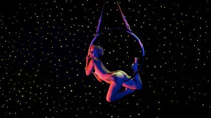"""Las muestras al estilo Cirque Du Soleil """"erótico"""" son uno de los principales atractivos. (Foto: Couple Cruises)"""