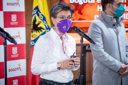 Alcaldesa Claudia López dio positivo para covid-19