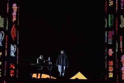 Paulo Londra interpretó todas las canciones de su álbum debut y varios de sus hits. En total fueron más de 20 temas (Franco Fafasuli)