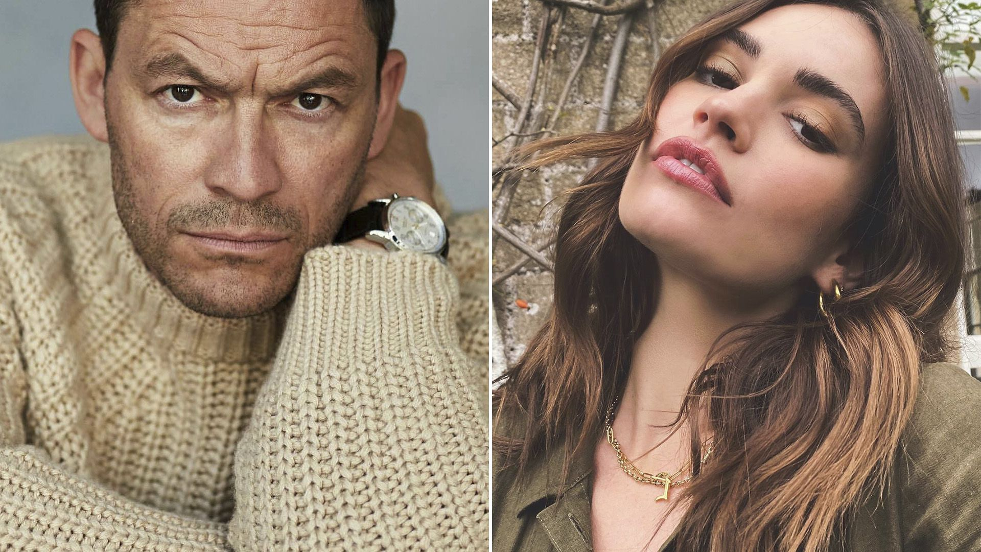 lily James - Dominic West