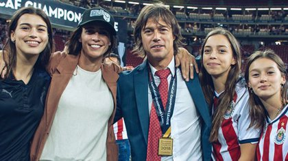 Matías Almeyda se apoyó en su familia para salir adelante (Foto: @peladoalmeyda)