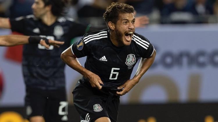 Jonathan Dos Santos emuló a su hermano Giovani al realizar un gol en la final de la Copa Oro (Foto: Twitter @Fifaworldcup_es)