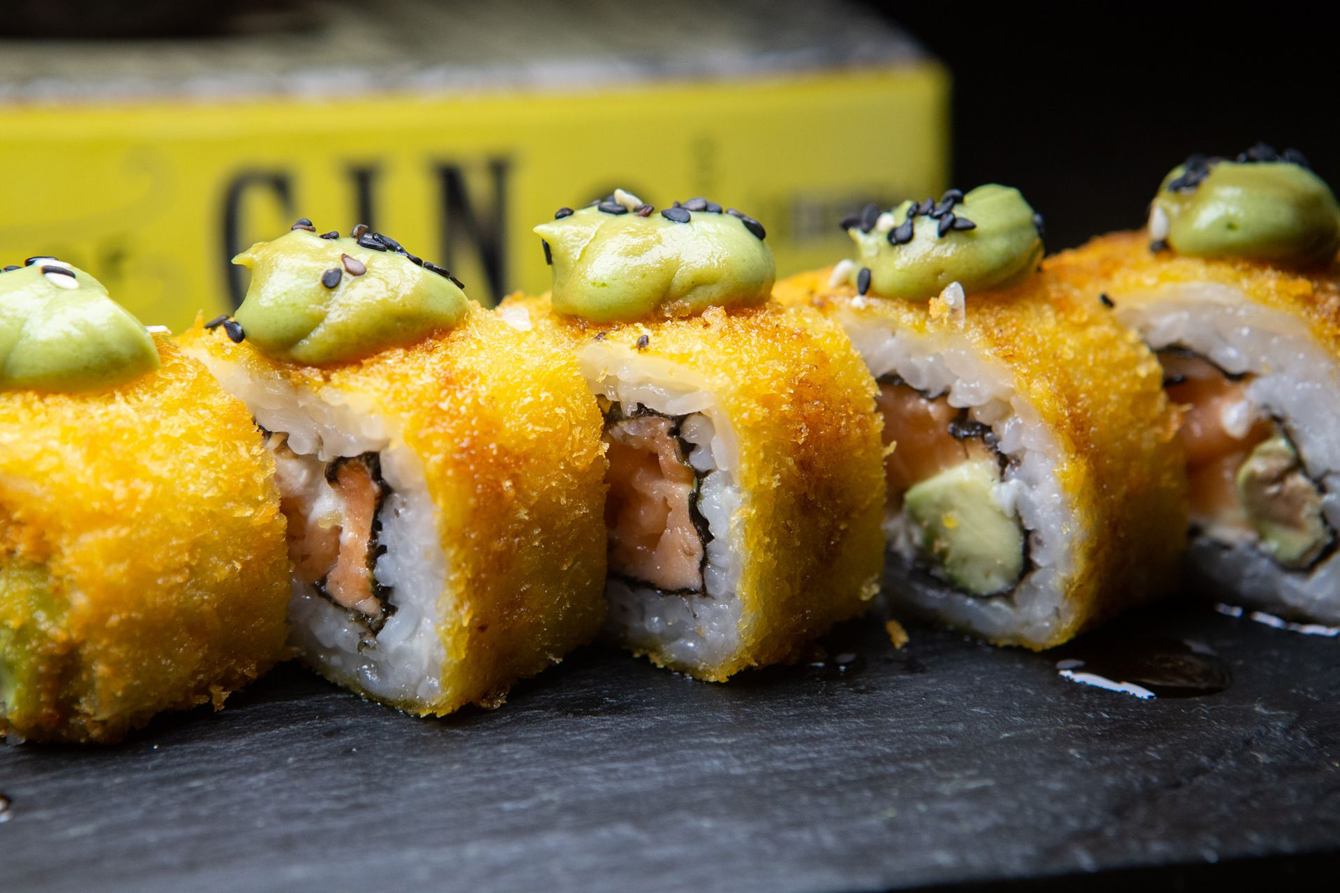 El Fried Maki, con panko crocante