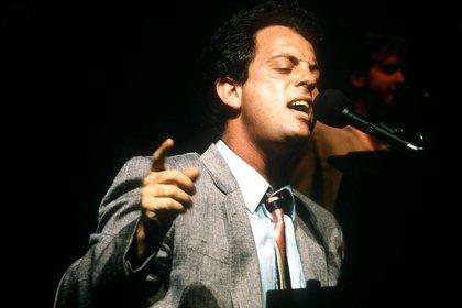 Billy Joel en Concierto, 1984. (Clive Dix/Shutterstock)