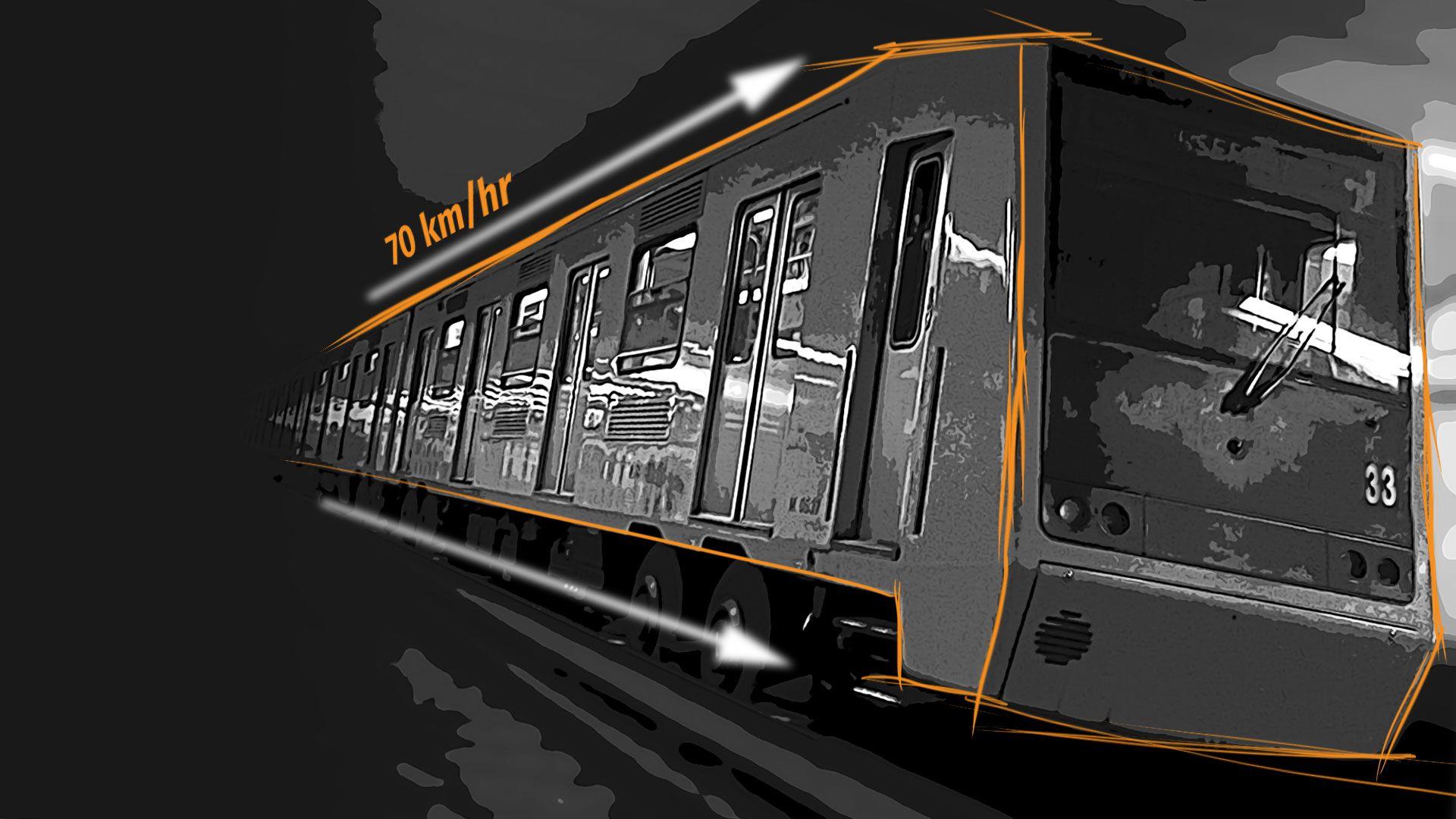 Se analizarán las cajas negras de los trenes. (Foto: Jovani Pérez)