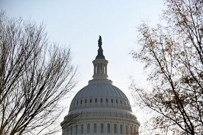 La cúpula del Capitolio de Estados Unidos, en Washington.10 de diciembre de 2020. REUTERS/Erin Scott