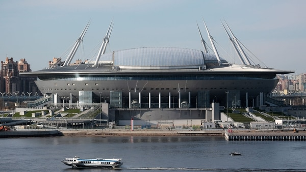 Saint Petersburg Stadium (Reuters)